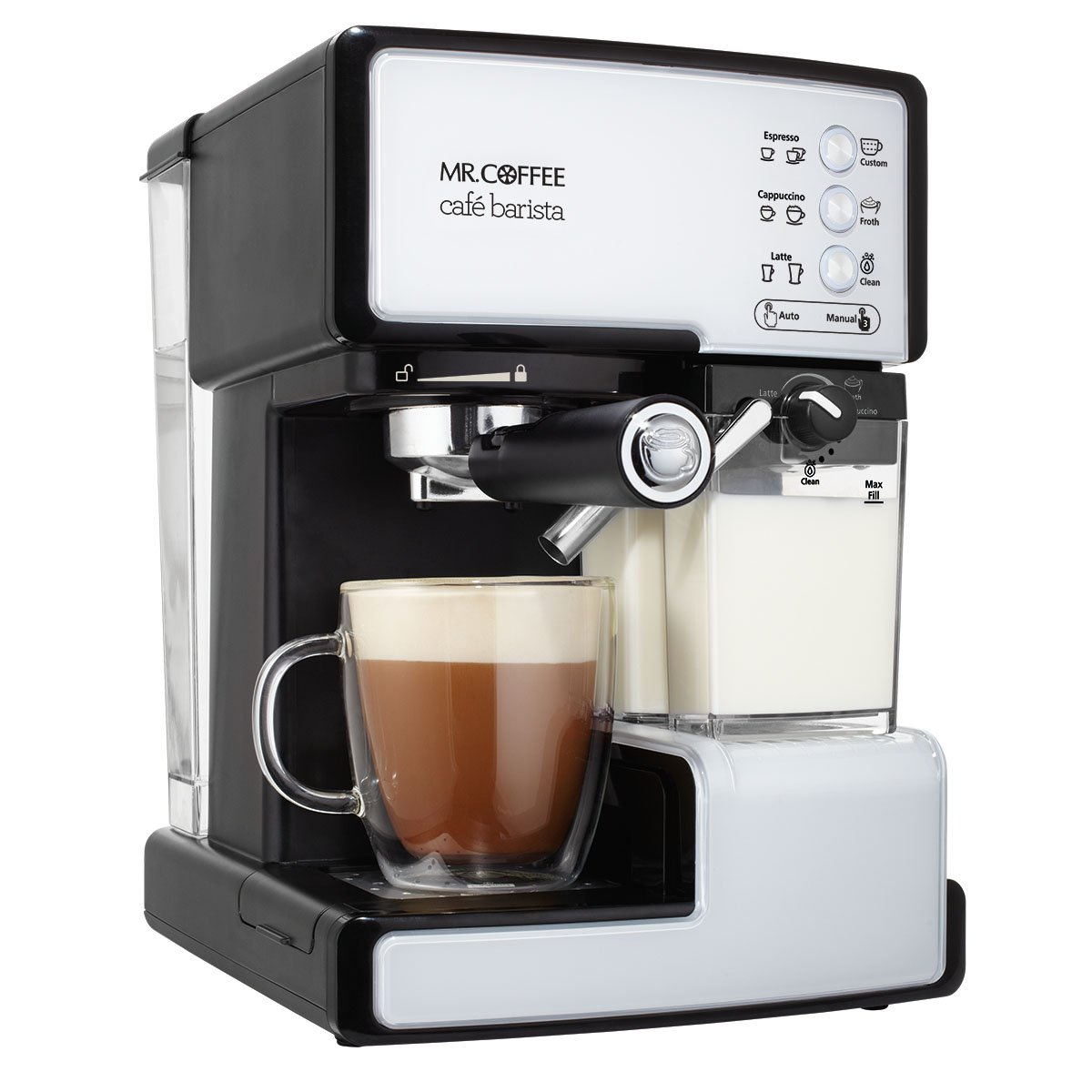 Mr. Coffee BVMC-ECMP1000-RB Cafe Barista Espresso Maker Machine